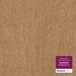 Линолеум Tarkett Travertine Terracotta 01 в Екатеринбурге